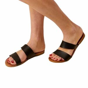{Altar'd State} Marsha Sandals Women's Black 8